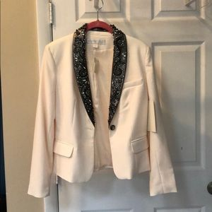 Boston proper blazer with sequins